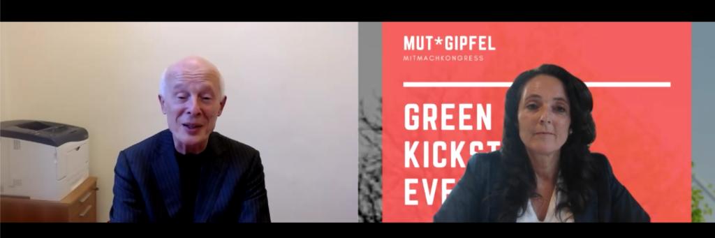 Prof. Schellnhuber - Vortrag Green Kickstart Event